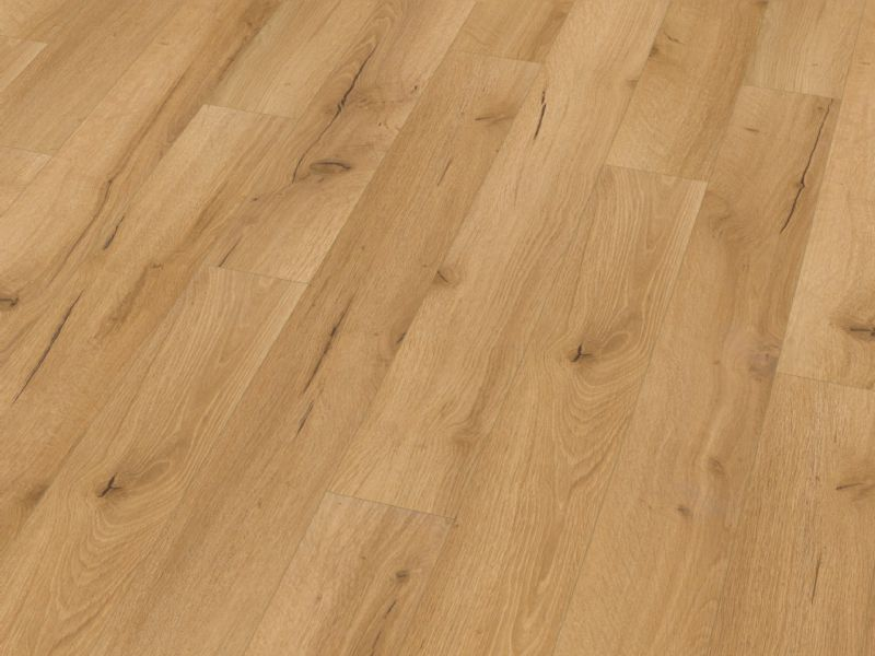 Fusion Classic 12mm Narrow Natural Robust Oak 4V Groove Laminate Flooring