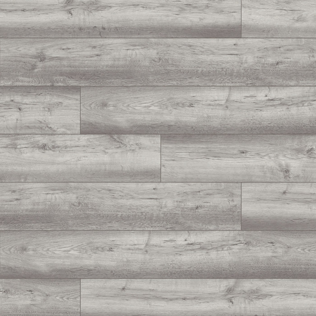 Home Classic 12mm Washed Grey Oak 4V Laminate Flooring