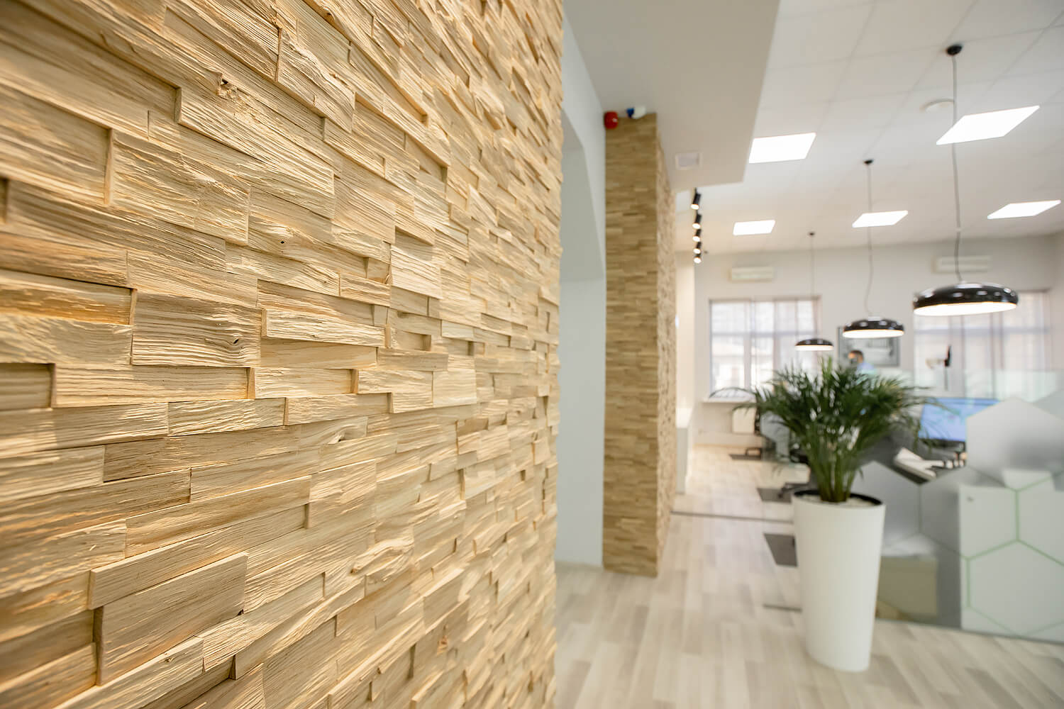 Deno 3D Deep Reclaimed Real Wood Panel Wall Cladding