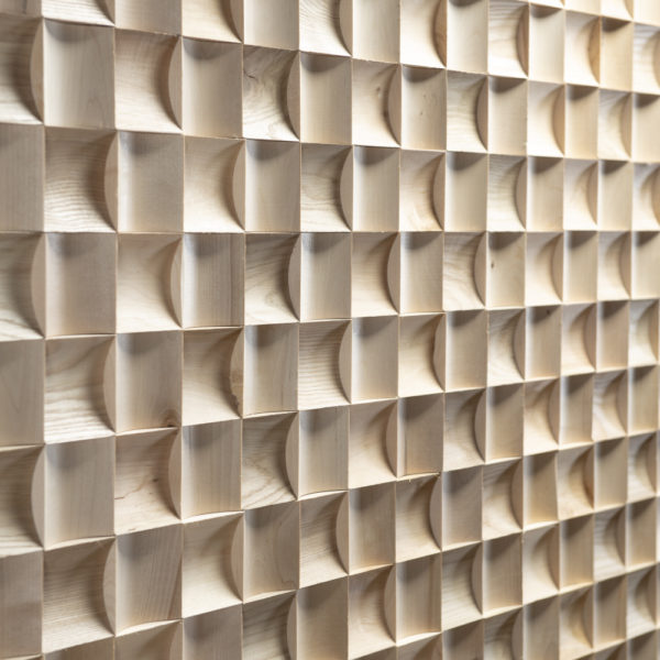 Milano 3D Deep Reclaimed Real Wood Panel Wall Cladding