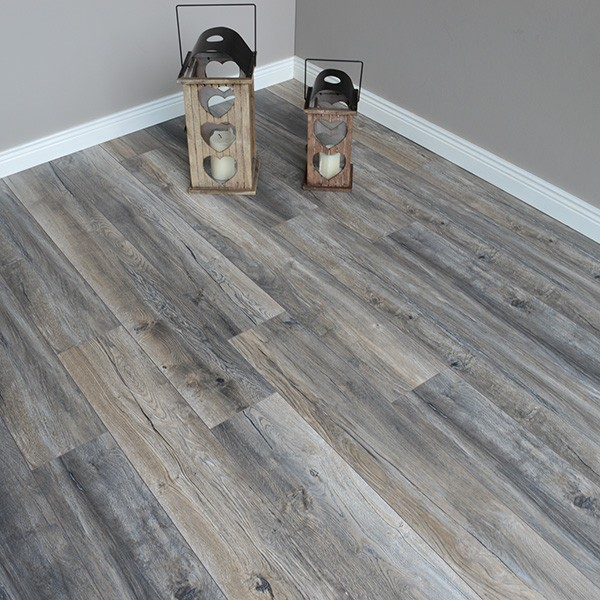 Home 4mm Harbour Rift Oak Effect LVT Luxury Vinyl Click Flooring