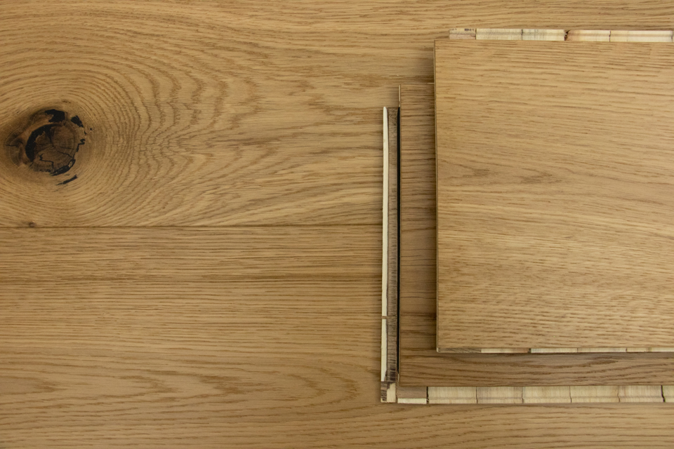 Chicago Click 14/3 x 190mm Rustic Brushed Oiled Oak Engineered Flooring